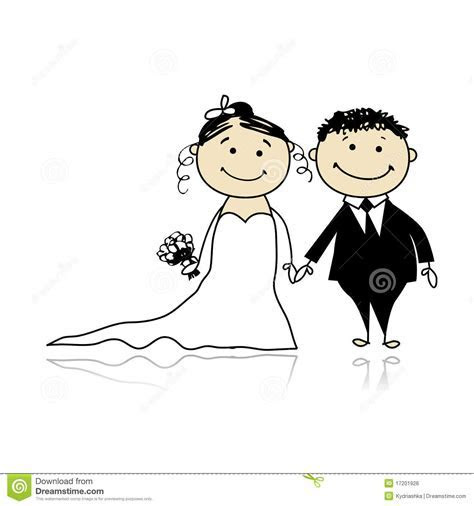 Wedding Ceremony   Bride And Groom Together Royalty Free