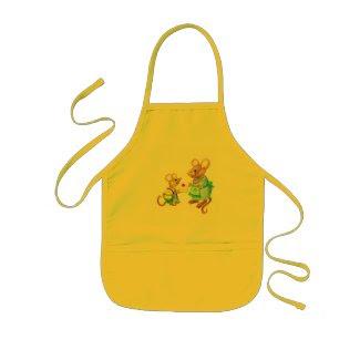 'Mice' Kids' Apron apron