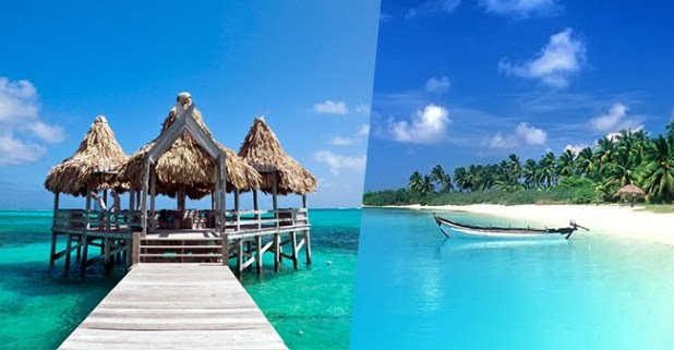 Travel Few Places across the World to Witness Tranquil & Clear Bluest Sea Water