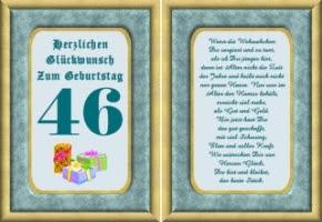 Glückwünsche Zum 46 Geburtstag Hylen Maddawards Com