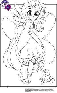 Coloriage Little Pony Equestria Coloriage My Little Pony