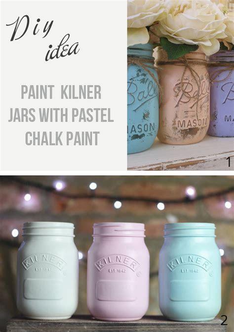 Painted Jam Jars   The Wedding of My DreamsThe Wedding of