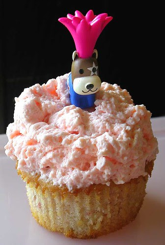 raging yoghurt cupcake