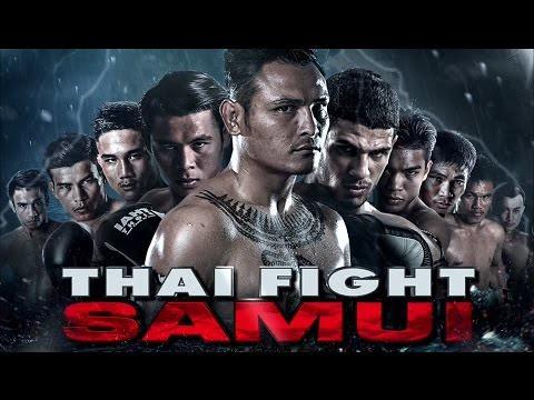 Liked on YouTube: ไทยไฟท์ล่าสุด สมุย แสนสะท้าน พี.เค.แสนชัยมวยไทยยิม 29 เมษายน 2560 ThaiFight SaMui 2017 🏆