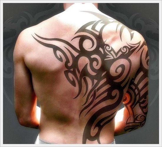 35 Diseños De Tatuajes Tribales En La Espalda