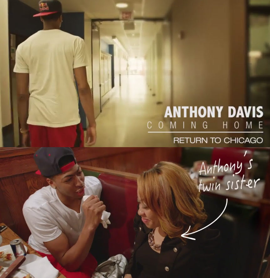 Anthony Davis Coming Home Part1: Return to Chicago ...