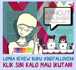 Lomba Review Buku Kancut Keblenger: Digital Love