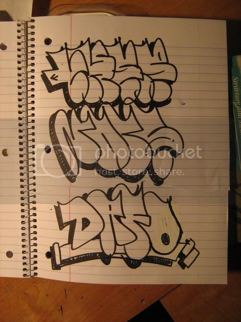 Graffiti Alphabet Throwie. just have an alphabet with