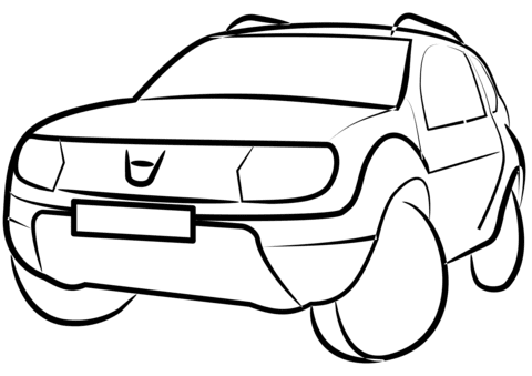 400 Car Coloring Pages Side View Pictures