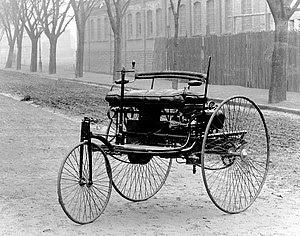 Benz Patent Motorwagen which is widely regarde...