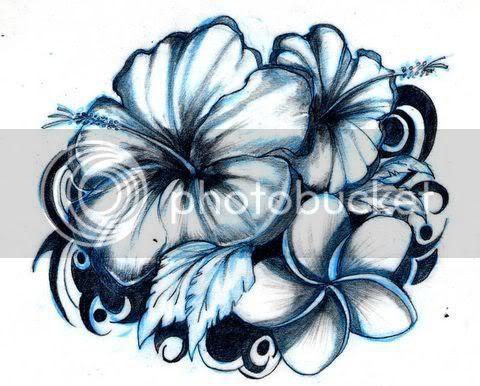 Flores Dibujos A Lapiz 3d