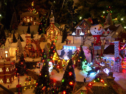 Christmas Village at Yankee Candle