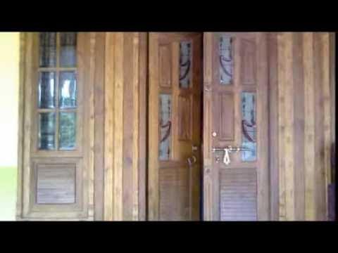 window double door design  | Double Egress Window