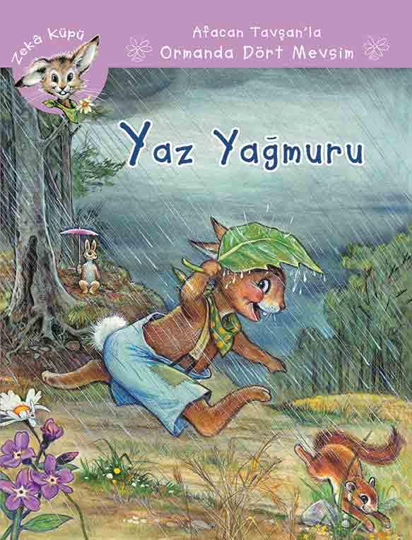Afacan Tavşanla Ormanda Dört Mevsim Yaz Yağmuru Kaknüs Yayınları