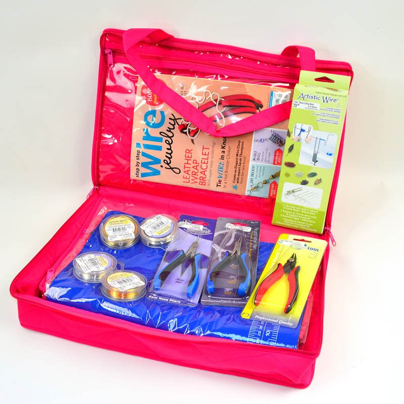 s47609 BeadFX Discovery Kit - Large Custom Craft Bag and Supplies - Discover Wireworking