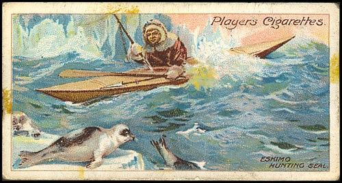 Eskimo Hunting Seal