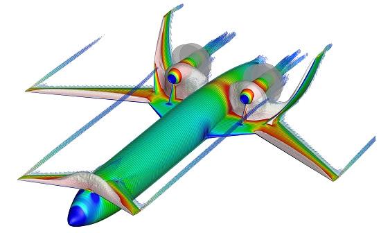 Projetando os aviões do futuro