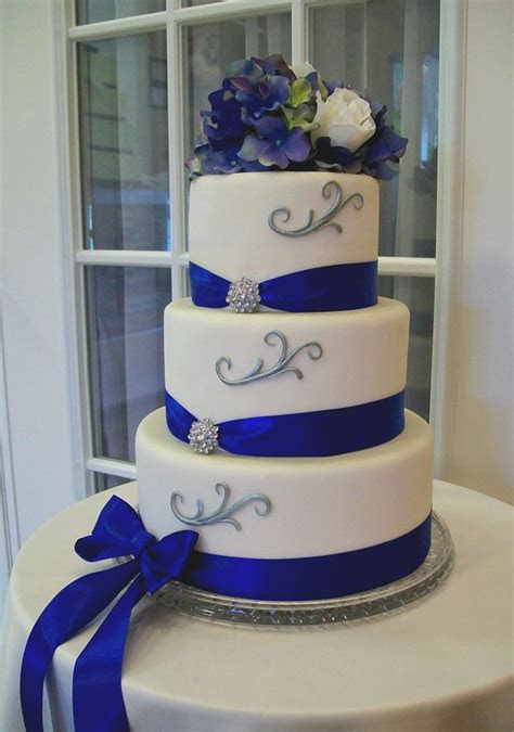royal blue wedding decorations ideas  pinterest