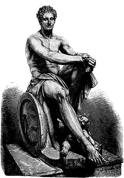 Ficheiro:Ludovisi Ares - 1889 drawing.jpg