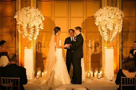 Achieve this look! Ceremony ideas, Orchids, Pedestals, Vases