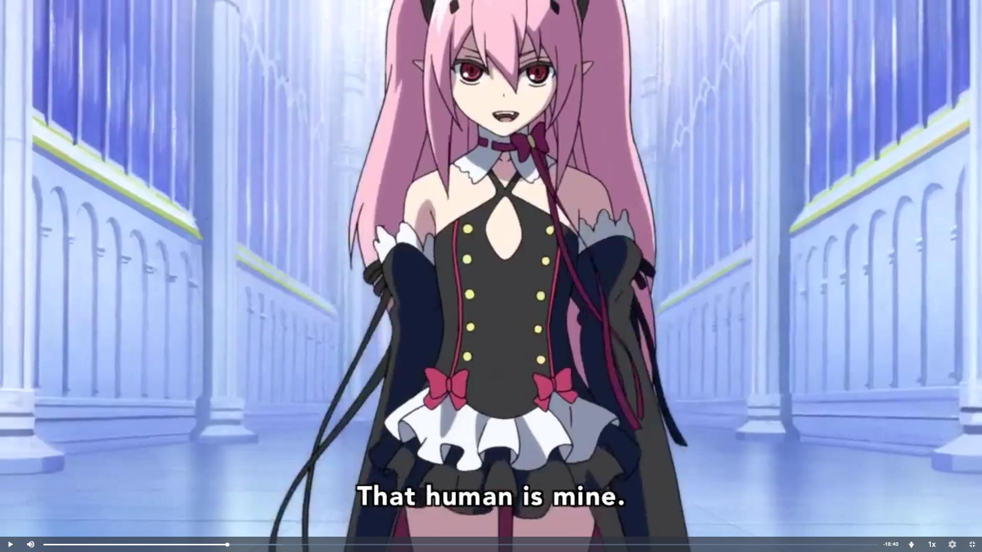 Pink Hair Vampire Anime