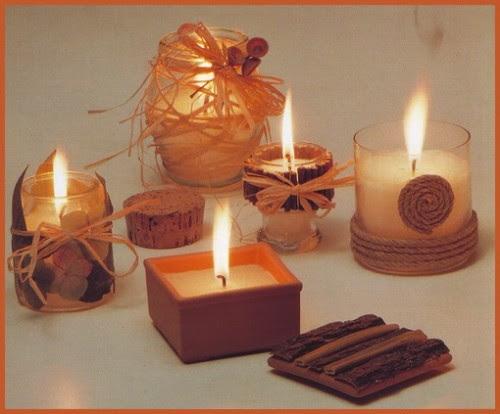 fai da te,candele decorate per le serate di festa,candele decorate,candele,candele decorate con materiali naturali,candele per natale,candele per una serata particolare