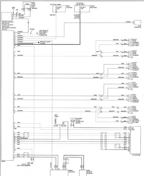 W210 speaker wiring diagram - MBWorld.org Forums