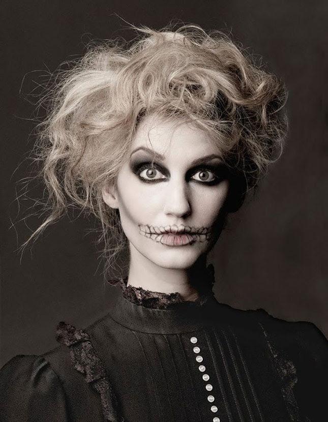 Creepy Scary Halloween Makeup.Creepy Scary Halloween Makeup George S Blog