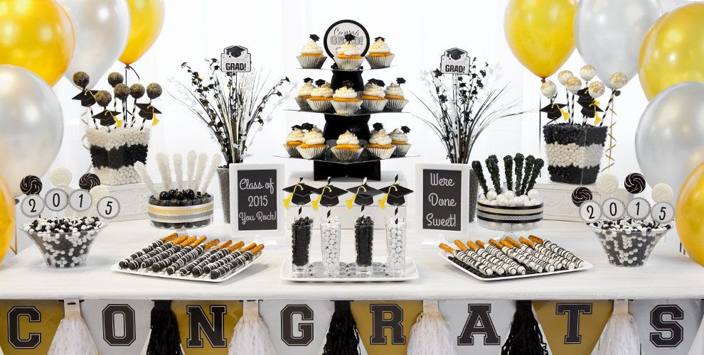 Table Decorations For Graduation Party Ideas Elitflat