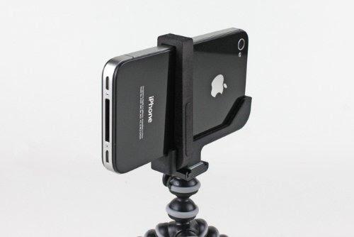 SP661:【正規輸入品】三脚へ取り付けるためのマウント「Glif for iPhone5」をより安定させる固定パーツとキーリングが付いた「Glif Plus(グリフプラス) for iPhone5」