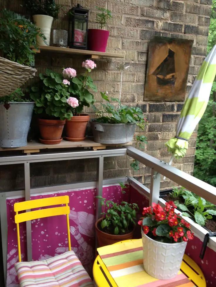 small balcony decoration02