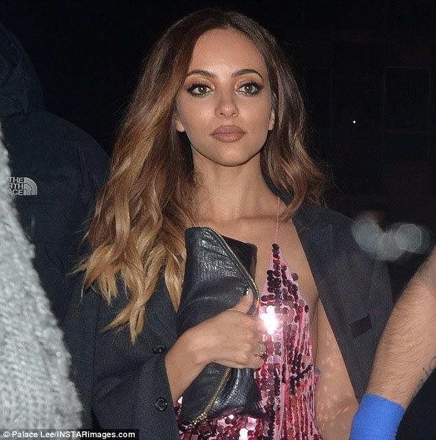 Desabafando: O cantor estava saindo depois de uma aparição bem sucedida no The X Factor