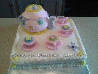 Coolest Homemade Tea Party Cakes