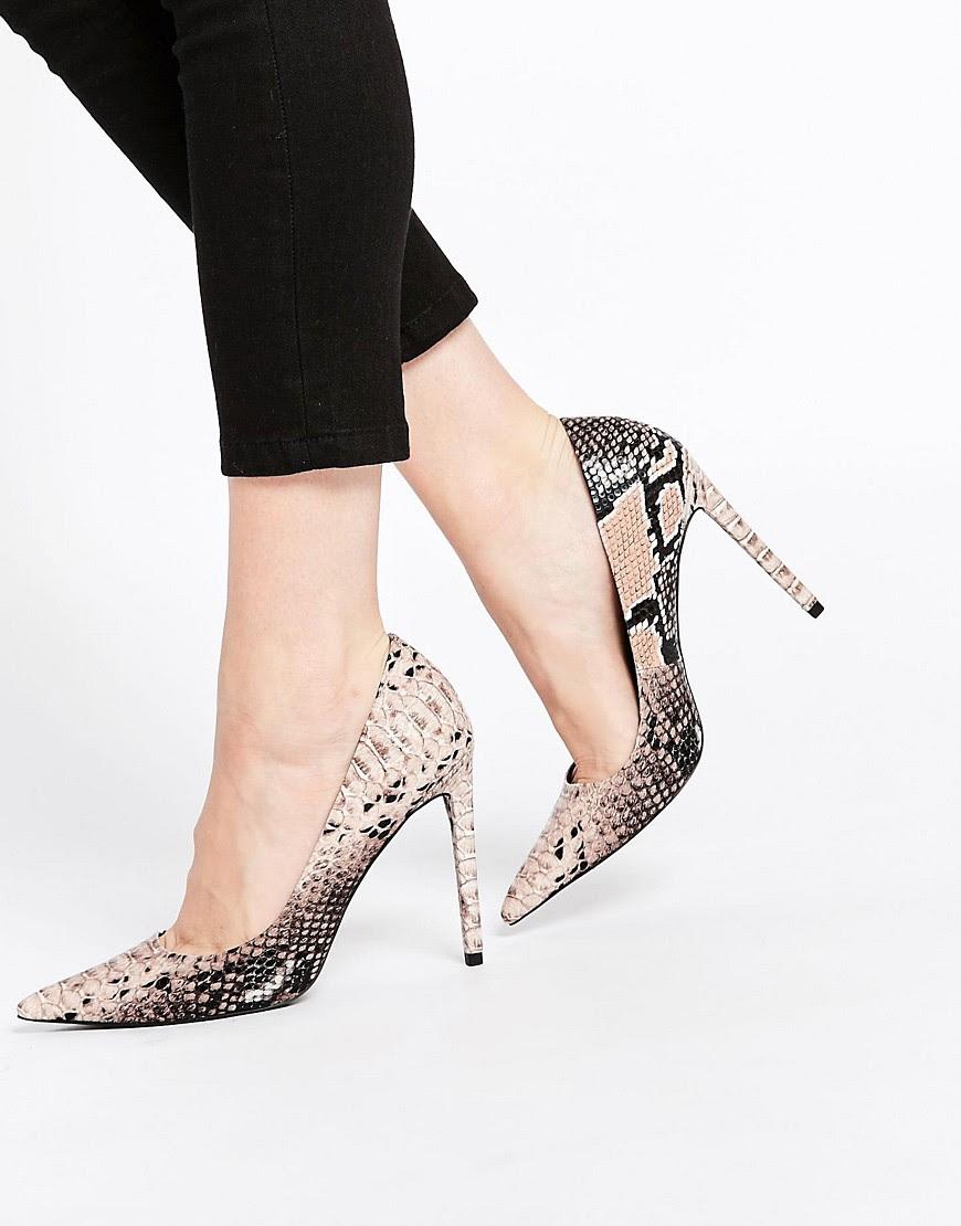 Image 1 - ASOS - PLATINUM - Chaussures pointues à talons