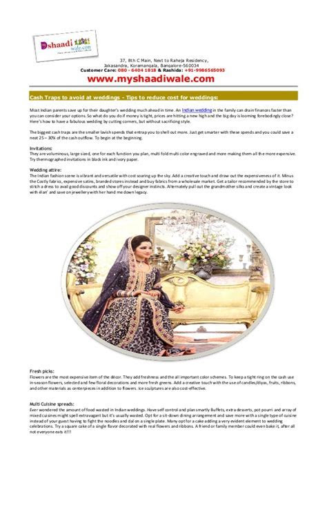 Tips to Reduce Wedding Cost   Wedding Planners Company in