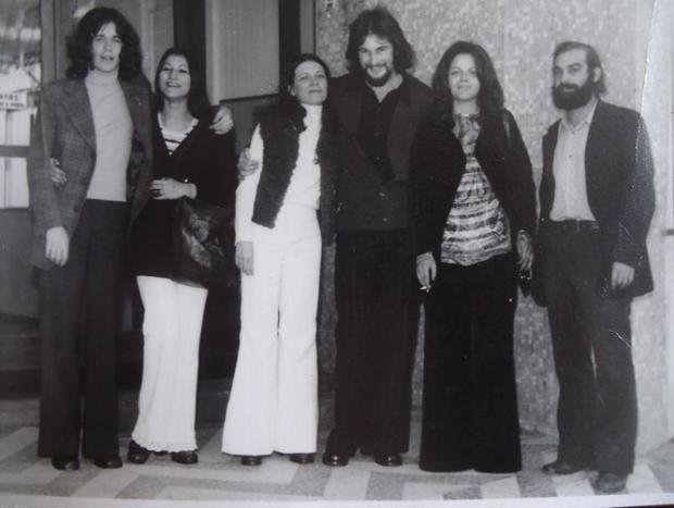 Fotos mostram Dilma em seus primeiros anos de Porto Alegre Carlos Alberto De Ré/Arquivo Pessoal
