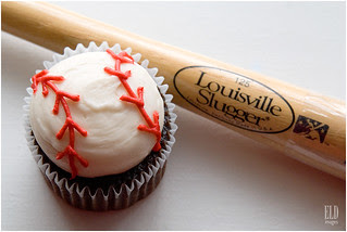 Baseball Cupcake - Oh Joy! Baked Goods