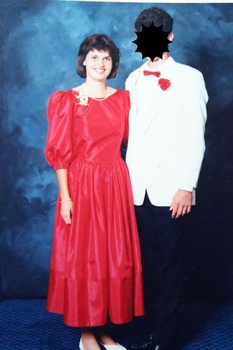 Senior formal - 1986