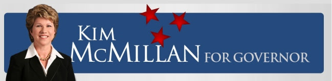 Kim  McMillan for Governor