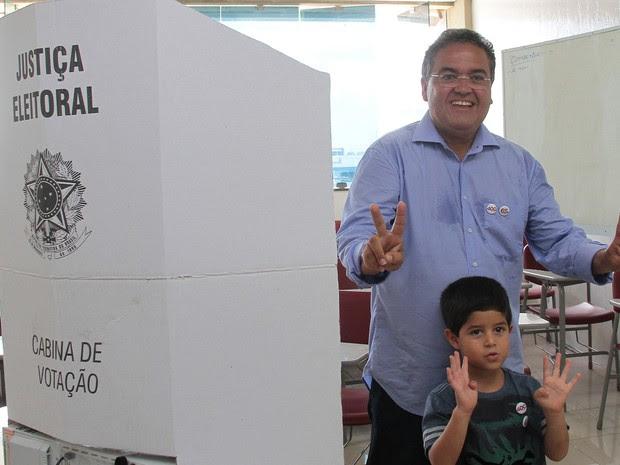 Roberto Rocha foi eleito, neste domingo, senador pelo Maranhão (Foto: Paulo Soares/O Estado)