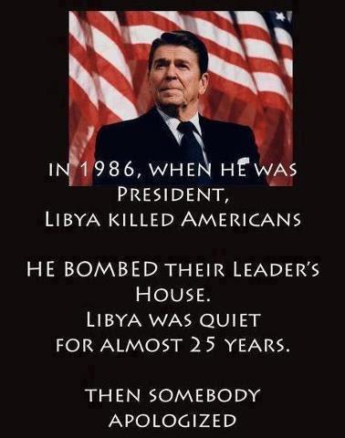 Image result for reagan attacks libya