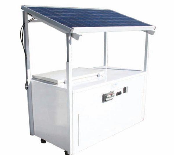 providing solar fridges for remote villages