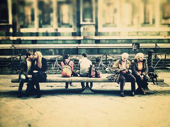 Street Photography: Triple Couple by ale di gangi