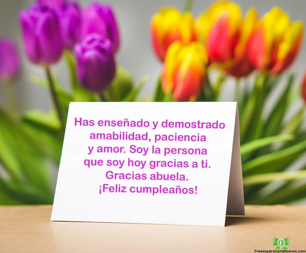 Feliz Cumpleaños Para Mi Abuelita Frases Y Regalos Cumpleaños