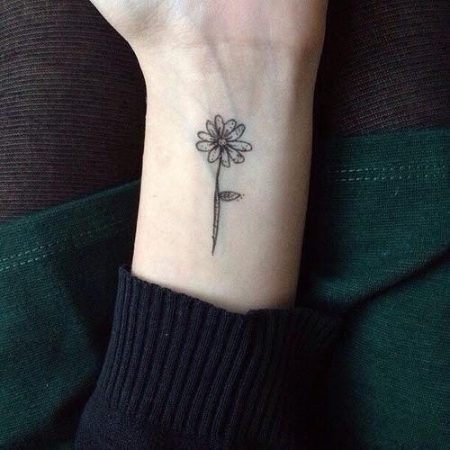 Small Flower Tattoo On Wrist Best Tattoo Design Ideas
