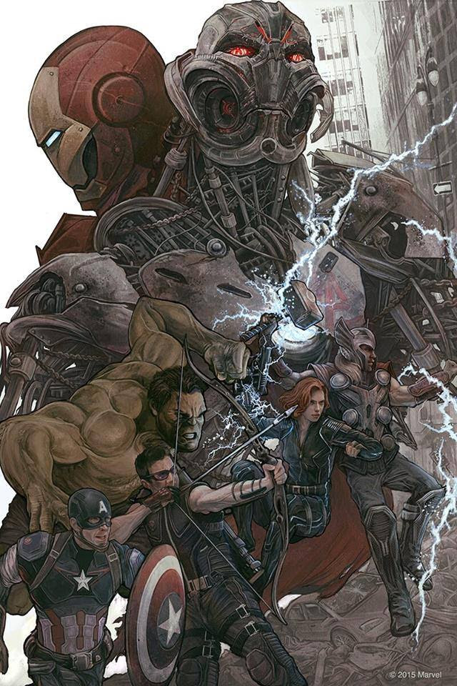 Avengers; The Age of Ultron by A.J. Frena