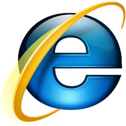 Microsoft Internet Explorer Logo, courtesty of Microsoft Corporation