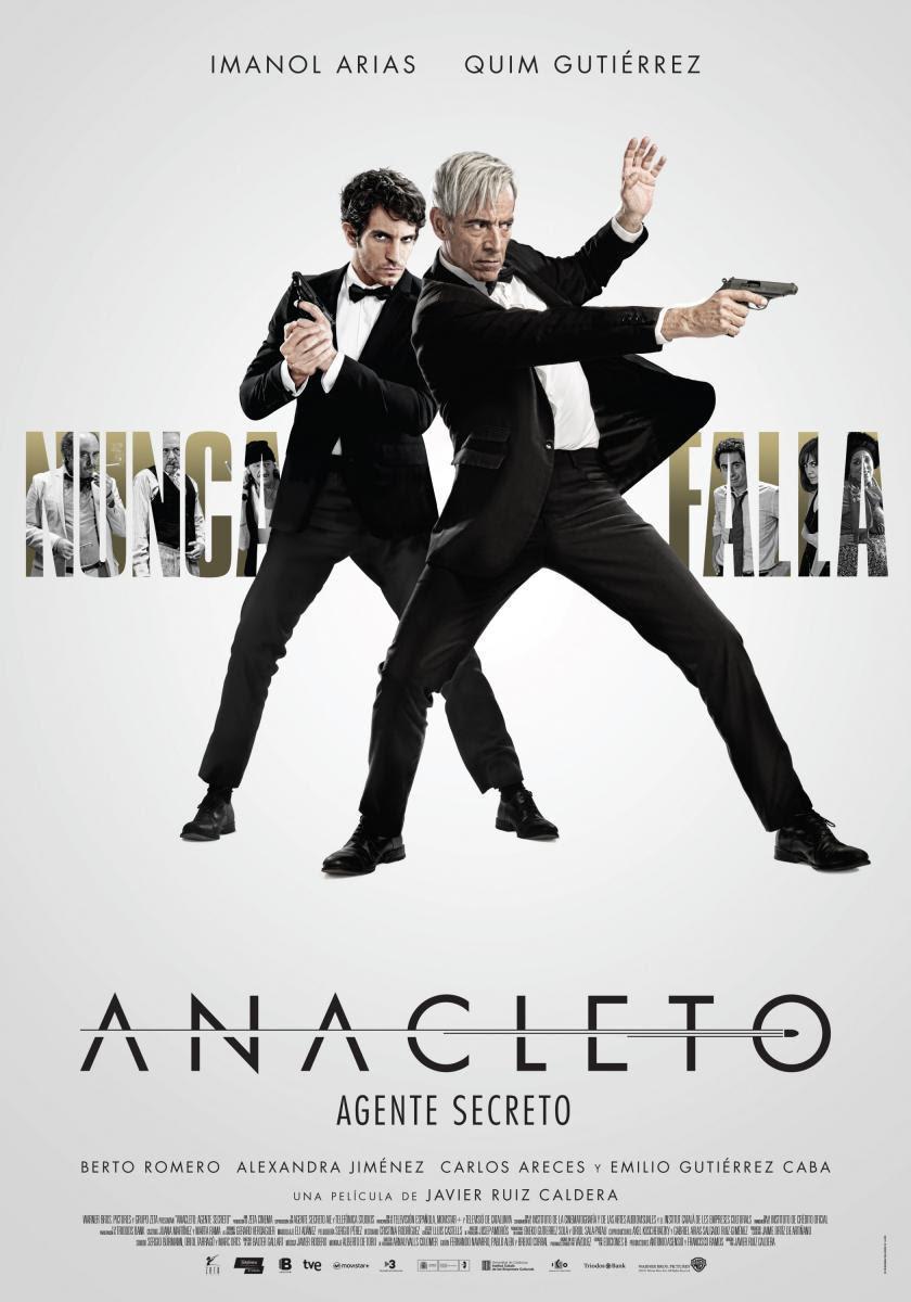 película, Anacleto: Agente secreto, blog de cine, blog solo yo, solo yo, comedia, parodia,