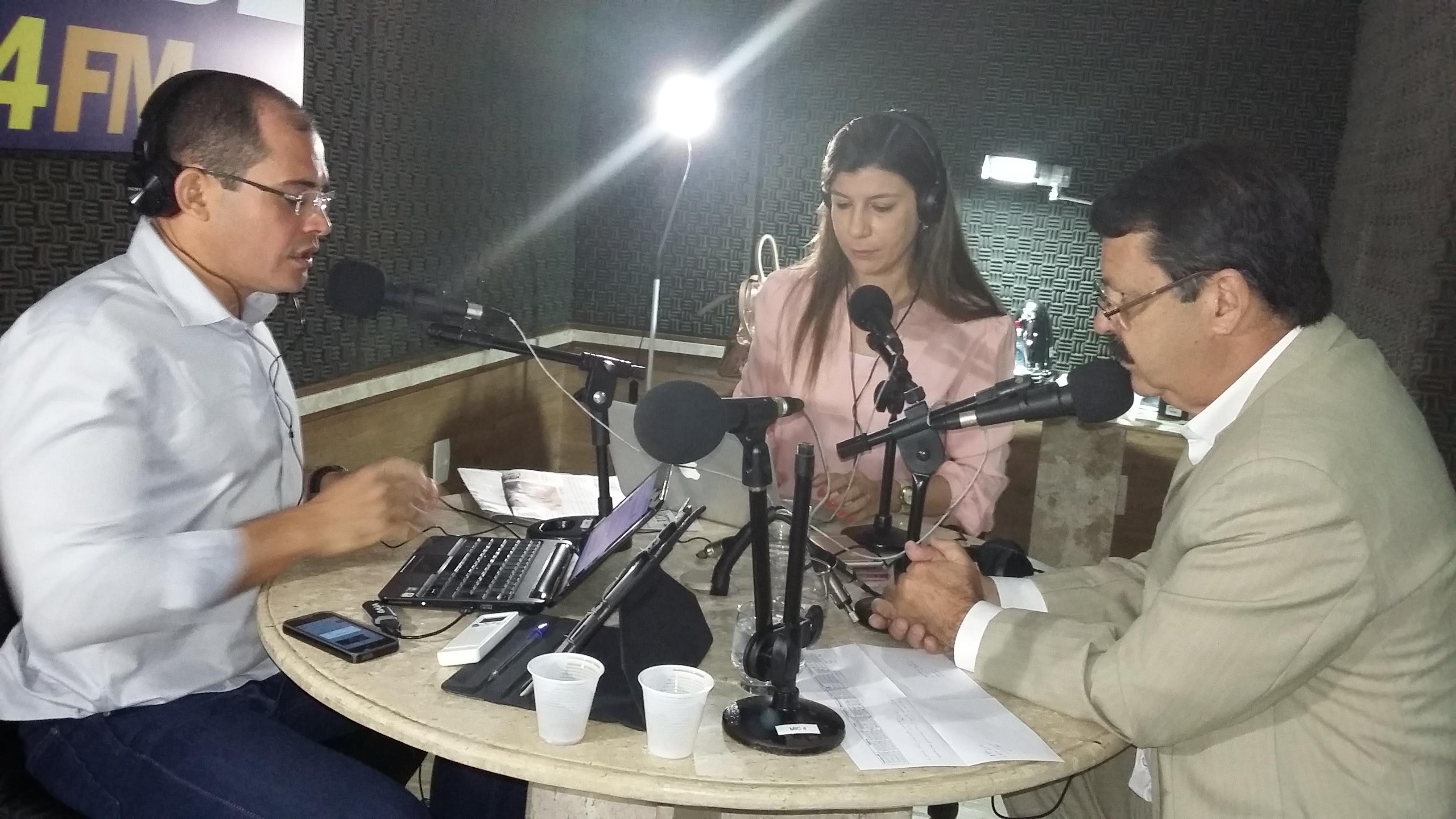 Ricardo Motta em entrevista ao Jornal da Cidade