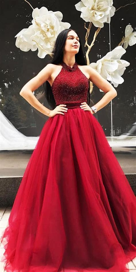 12 Amazing Blood Red Wedding Dresses   Wedding Dresses Guide